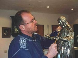 Herbert feldkamp mit madonna