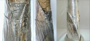 5 mantel vor und nach der restaurierung